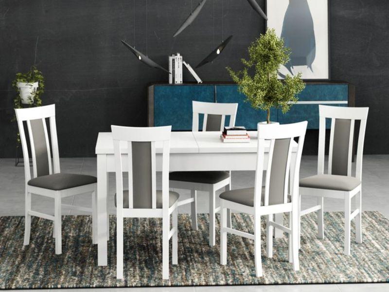 Stół i krzesła do salonu jadalni kuchni ZESTAW I zdjęcie 1