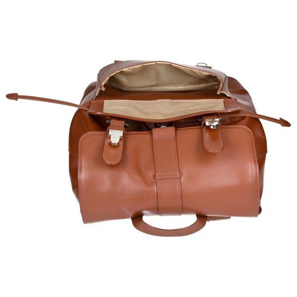 Ekskluzywny skórzany plecak męski McKlein Hagen Czarny zdjęcie 7