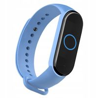 OPASKA SILIKONOWA DO XIAOMI MI BAND 5| LIGHT BLUE