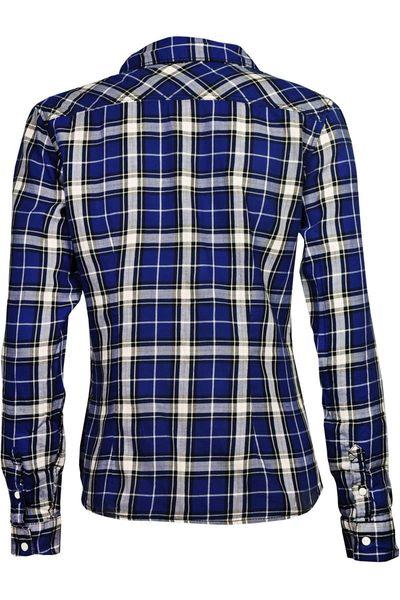 H&M Koszula Granatowo-Biała Krata - 36 / S zdjęcie 2
