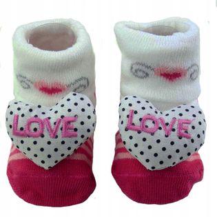 Skarpetki niemowlęce antypoślizgowe do 12 miesięcy