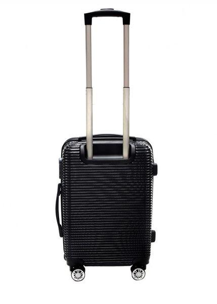 WALIZKA walizki kółka torba samolot ZESTAW M + L CZARNE 1073+1074 zdjęcie 2