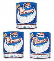 FOXY TORNADO ręcznik kuchenny papierowy 3WARSTW x3