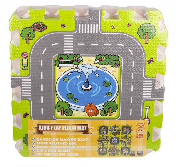 Duże puzzle piankowe mata dla dzieci ulica zdjęcie 10