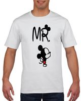 Koszulka męska DLA PAR MR AND MRS DLA NIEJ I NIEGO M