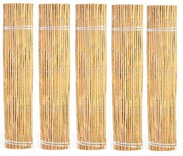 MATA BAMBUSOWA OSŁONOWA NA PŁOT OGRODZENIE 1,8x5 BLUEGARDEN