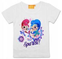 Bluzka Koszulka Shimmer Shine dżin 128