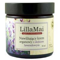 Nawilżający Krem z Olejem Arganowym o Zapachu Lawendy - 50 ml - LillaMai