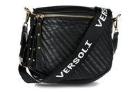 Czarna saszetka nerka przez ramię plecak torba HIT X74