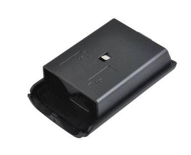 Czarna pokrywa klapka koszyk baterii pada XBOX 360