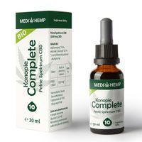 OLEJEK 10% CBD NATURALNY CO2 30ML - MEDI HEMP