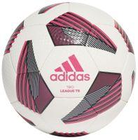 Piłka nożna adidas Tiro League TB biało-różowa FS0375 5