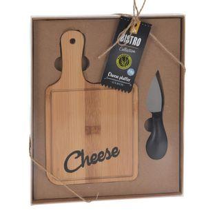 Bambusowa Deska Do Serów Z Nożem Cheese Excellent Houseware 121206