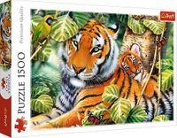 Trefl Puzzle Dwa tygrysy 1500 el