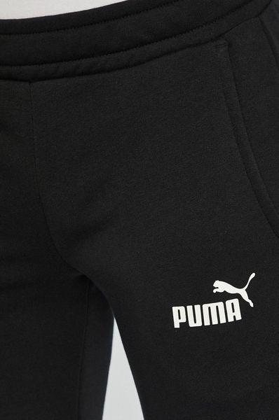 Spodnie męskie Puma Essentials Sllim Tr czarny 852429 01