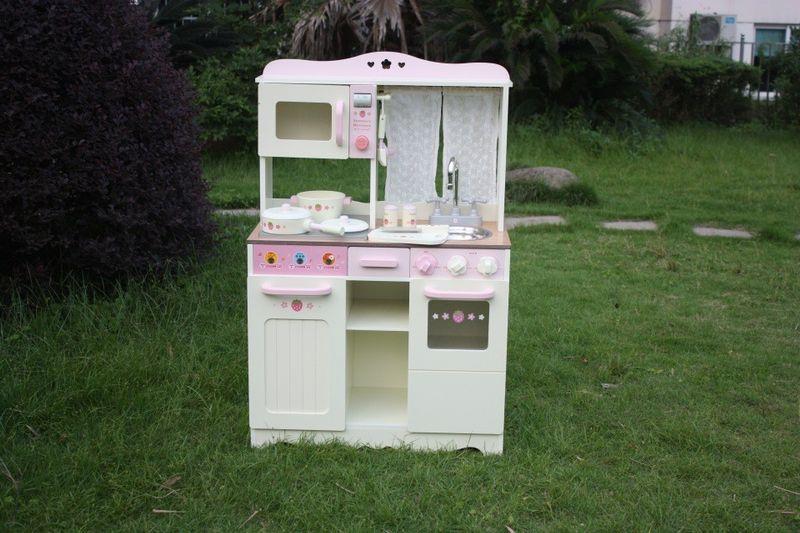 Drewniana Kuchnia Dla Dzieci VINTAGE - Duży Zestaw zdjęcie 2