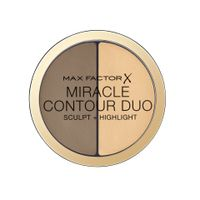 MAX FACTOR BRONZER I ROZŚWIETLACZ MIRACLE CONTOUR DUO