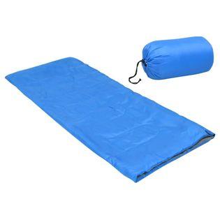 Lumarko Lekki śpiwór dziecięcy, prostokątny, niebieski, 670 g, 15°C!