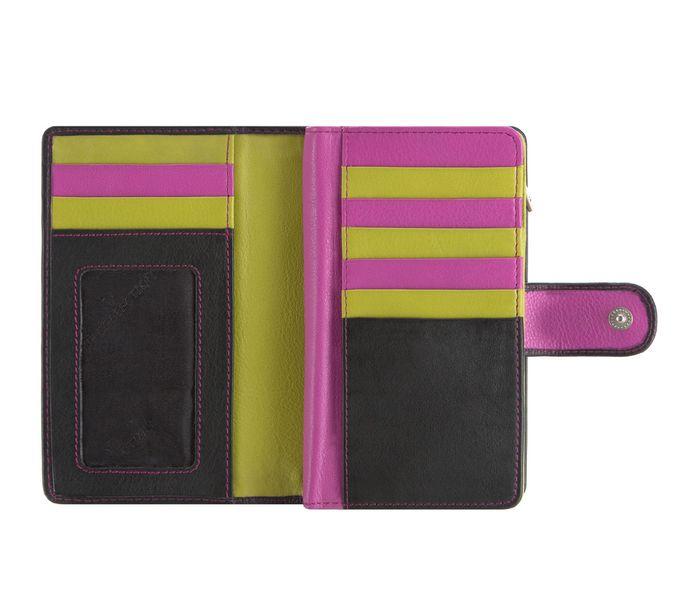 2309073b5d260 Czarny z kolorowym środkiem portfel damski VIP Collection: Multikolor  zdjęcie 3