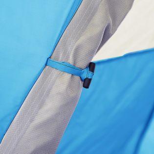 Namiot typu pop-up 2-3 os. 240x210x140cm niebieski VidaXL