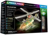 Laser Pegs Świecące Klocki 8W1 Helicopter 127El. 81012