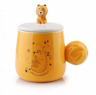 Kubek Z Pokr. Porcel. 370Ml Winnie Mondex Htnf6971