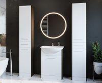 Meble łazienkowe SLIDO MAX Wenge / Biały