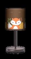 Lis Lisek motyw Lampa stołowa lampka nocna dla dziecka