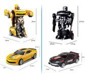 Auto-Robot Zdalnie sterowany Transformers Bumblebee RC Z661 zdjęcie 5