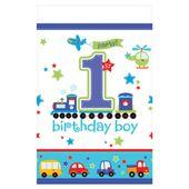 Obrus foliowy na 1 urodziny Chłopca