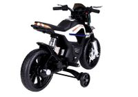 Import LEANToys JT5158 Motocykl Na Akumulator Biały