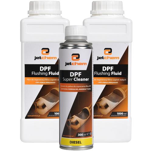 DPF Flushing Fluid JETCHEM silny koncentrat do regeneracji filtra DPF na Arena.pl