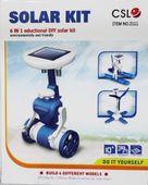 Roboty solarne 6w1 - Solar Kit - wiatrak, helikopter, auto, robot zdjęcie 2