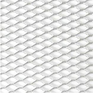 Siatka zderzaka aluminiowa plaster miodu Srebrna Kamei 8 x 4 mm