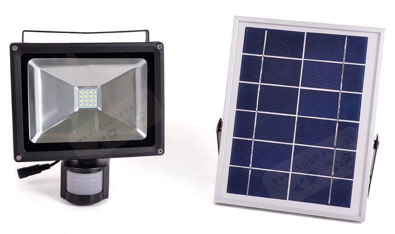 Halogen Led Lampa Czujnik Ruchu Panel Solarny 20w Arenapl