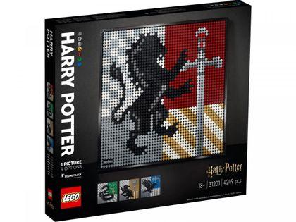 Lego ART Harry Potter Herby Hogwartu