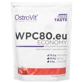 OSTROVIT KONCENTRAT WPC 80.eu Economy 700g BIALKO TRUSKAWKA MIĘŚNIE
