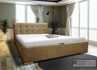 Łóżko tapicerowane Bravo 120x200 stelaż pojemnik