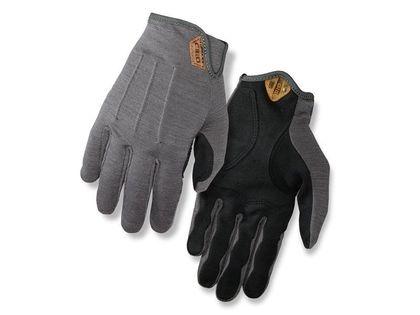 Rękawiczki męskie GIRO D'WOOL długi palec titanium roz. L (obwód dłoni 229-248 mm / dł. dłoni 189-199 mm) (NEW)