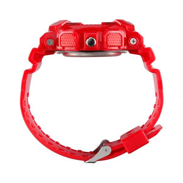 Męski Elektroniczny Zegarek S-SHOCK Trzy Kolory Biały Czerwony Czarny zdjęcie 6