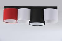 Lampa sufitowa 4xE27 PRZED ŚWITEM Namat-różne kolory kolor - 5