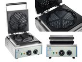 Gofrownica - 1500 W - serca Royal Catering RCWM-1500-H