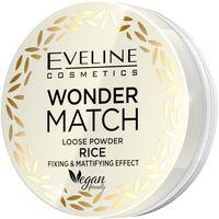 Eveline Cosmetics Wonder Match Loose Powder Rice Puder Sypki Ryżowy Utrwalająco-Matujący 6G