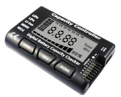 Tester Napięcia I Pojemności Pakietów Lipo/life/li-Ion 2-7S I Nicd/nimh 4-7C