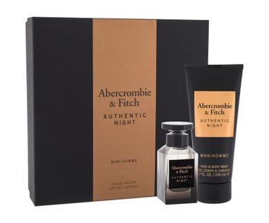 Abercrombie & Fitch Authentic Night Woda toaletowa 50ml zestaw upominkowy