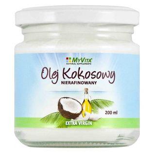 Olej Kokosowy Nierafinowany 200ml - MyVita