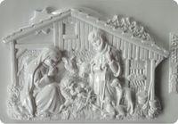 Forma do odlewów - Odlewy gipsowe - Szopka bożonarodzeniowa (2002017)