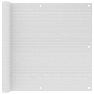 Lumarko Parawan balkonowy, biały, 90x500 cm, HDPE!