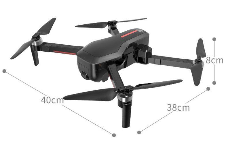 Dron CSJ-X7 Kamera 4K 5G Wifi GPS Śledzenie Funkcja Zawisu Z446 zdjęcie 5