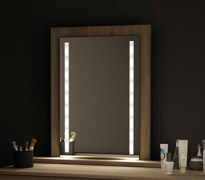 Toaletka Adaś Sonoma Lustro Oświetlenie Led Do Makijażu Kosmetyczna